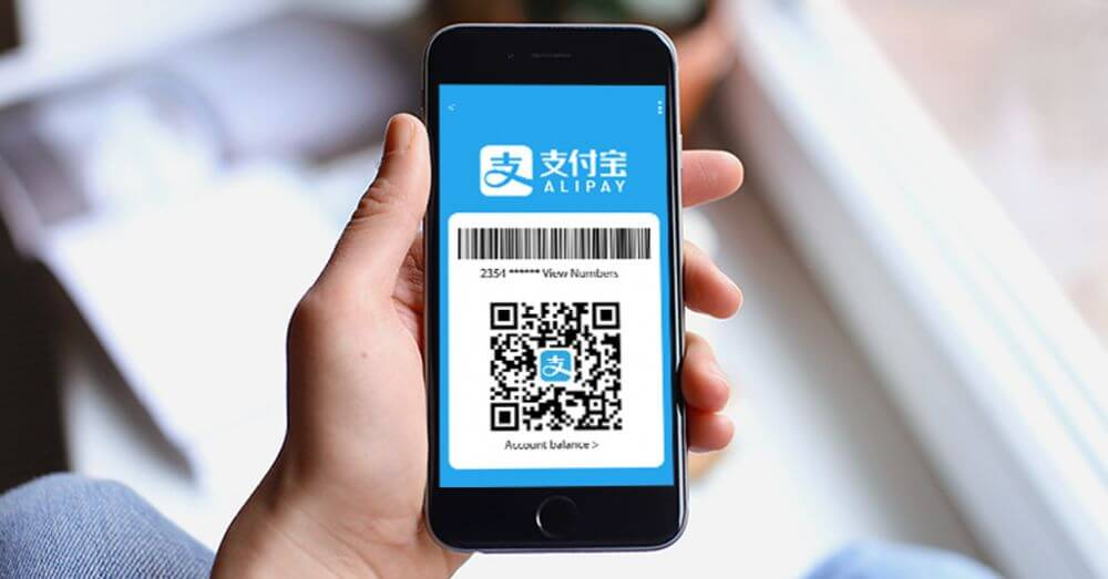 Alipay payment.